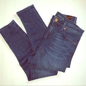 LEVEL 99 Dark Wash Skinny Jeans